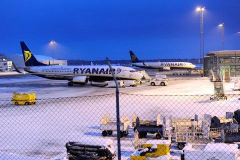 TIL GARDERMOEN: Ryanair har søkt om og fått landingsrettigheter på Gardermoen.