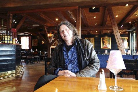 Spent: – Jeg er utrolig spent, sier Stein Erik Lunde, som synes det er gøy at boka nå blir film.FOTO: LENA MALNES