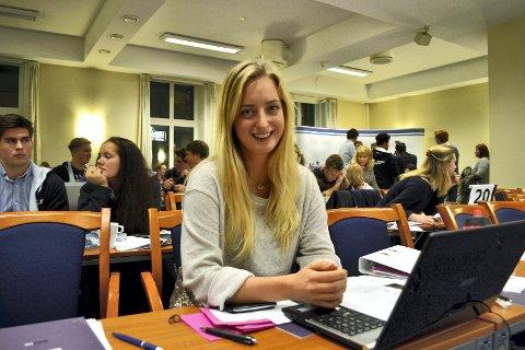 EGEN LISTE: - Voldtekt er alvorlig og mørketallene er store, sier leder i Vestfold Unge Høyre, Elisabeth Aspaas Runsjø. Bildet er fra 2013.