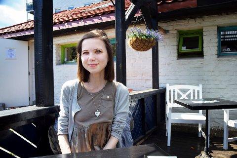 TYNN: Madelén Skare Olsen har slitt med spiseforstyrrelser.