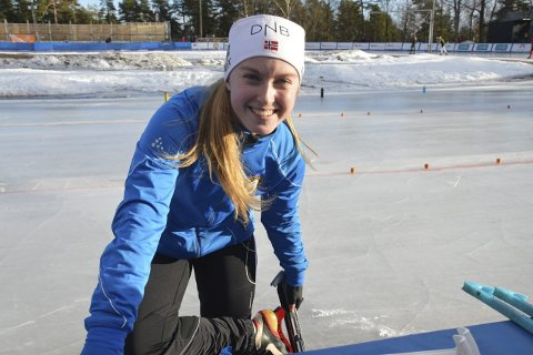 GODE LØP: Benedicte Hansen var eneste TT-løper i klassene 11 til 16 år. Hun leverte gode løp i jenter 15 år. Foto: Even Grinvoll