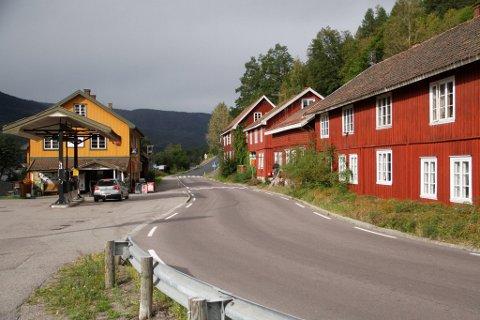 Gamle Eidsfoss.