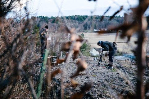 ETTERFORSKER: Brutale hjemmeran i Sverige kan gi politiet i Tønsberg nye spor.