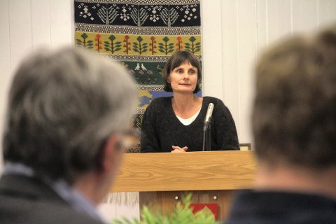 LETTET: Tanja Breyholtz er daglig leder avVestfold vann IKS.