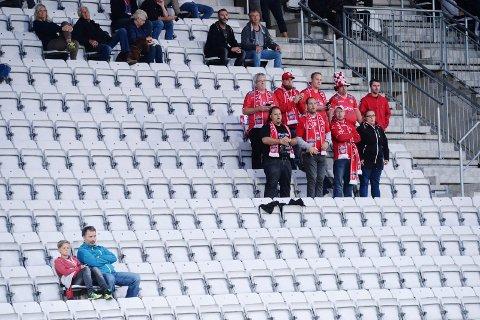 I TYKT OG TYNT: Supporterklubben Oseberget går mot slutten. Leder Thomas Hille sier supporterklubbens medlemmer føler seg fryst ut av klubbens styre.