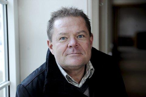 INGEN PARKERINGSKJELLER: Vi vil fremme sak om en mindre vesentlig reguleringsendring for Anders Madsens gate, sier kommunaldirektør Jan Eide i Tønsberg kommune. Dette betyr i praksis at det ikke blir bygget parkeringskjeller på eiendommen.