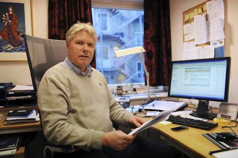 SENDE SØKNAD: – Vi vil om kort tid sende søknad til Samferdselsdepartementet om fritak fra reglene om havnekapital, sier rådmann Geir Viksand i Tønsberg kommune.