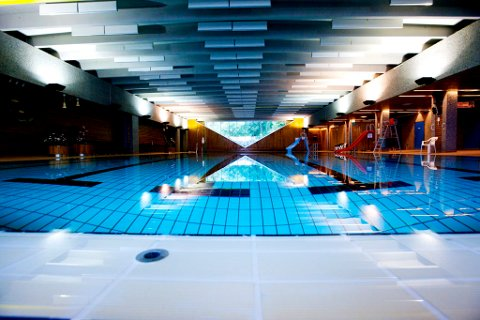 Svømmehallen er nå stengt.