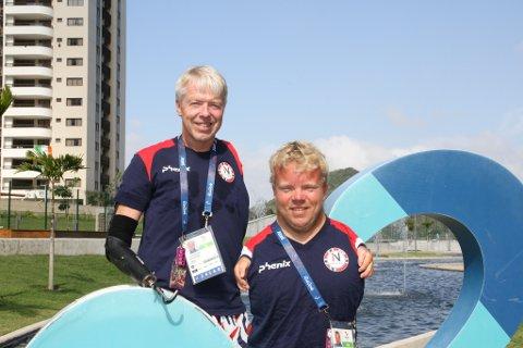 FLAGGBÆRER: Bjørnar Erikstad fra Nøtterøy blir Norges flaggbærer under årets Paralympics.