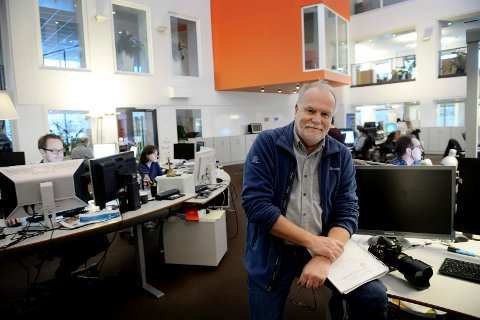 FRIVILLIGHETEN: Tønsbergs Blads journalist og fotograf Per Gilding har laget serien De frivillige hvor han møter de som står på nesten døgnet rundt for å gjøre en innsats for andre.