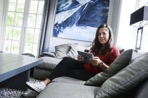 SIER NEI: Gruppeleder i fylkesting Lene Westgaard-Halle (H) sier nei til en region med bare Vestfold og Telemark.
