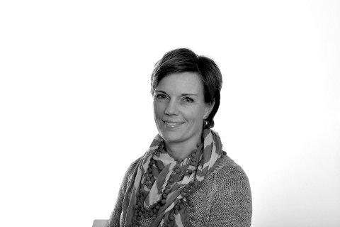 TA UTDANNING: Tone Merethe Ude er journalist i Vestfoldredaksjonen til Tønsbergs Blad, Sandefjords Blad og Østlands-Posten.