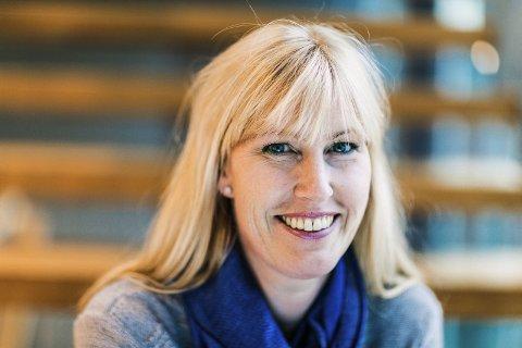 VIL HA FAGFOLK: Kristin Saga, regiondirektør NHO i Vestfold ber ungdom tenke på yrkesfag.