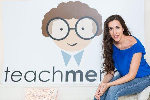 VERDENSOMSPENNENDE: Thea Myhrvold startet selskapet Teach Me Now for to år siden, og har nylig inngått et samarbeid med Microsoft.