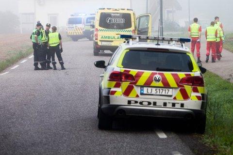 Ulykken skjedde i september 2016. En jente var på vei til Brattås skole på Nøtterøy da hun ble påkjørt av en lastebil og døde.