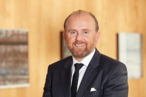 I MEDVIND: Adm. direktør Henrik Badin kan konstatere at Scanship går inn i 2017 med rekordfull ordrebok.
