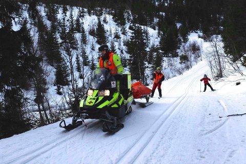 BEREDSKAP: Røde Kors vil ha beredskap på Skrim i helgene framover. Nå arbeides det med å bemanne vinter- og påskeberdsskapen.