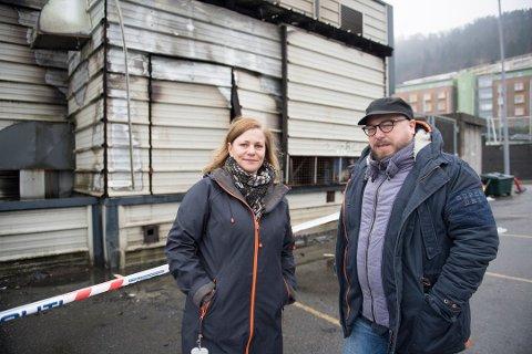 Cornerteateret skal sette opp forestilling i huset som brant i Micael Krohnsgate, tidligere Carsten Moholdt Jorunn Lullau og Stein Thorsen.