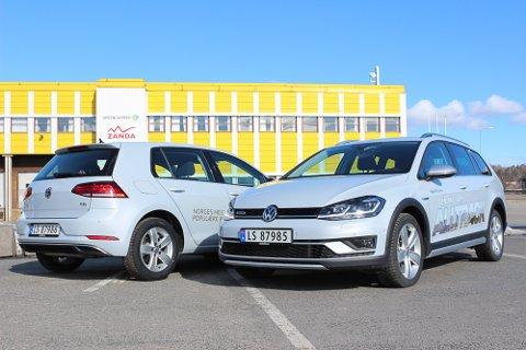 Facelift: Nye Volkswagen Golf har fått ny front med skarpere linjer, nye motorer og mer utstyr.