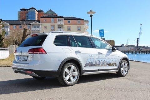 Romslig og robust: Golf Alltrack er kanskje den beste familiebilen i Golf-programmet.