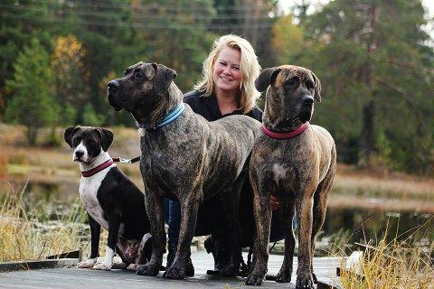 OPPLEVER DET URETTFERDIG: Betine Sandland og den frivillige  organisasjonen Norwegian Dog Rescue Spain er svært skeptiske til Senterpartiets forslag til lovendring. De mener næringskomiteen har dratt konklusjoner på feil informasjonsgrunnlag.
