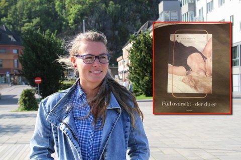 Anne Skottvåg beskriver Privatmeglerens annonse som provoserende, og krever at megleren slutter å bruke annonsen.