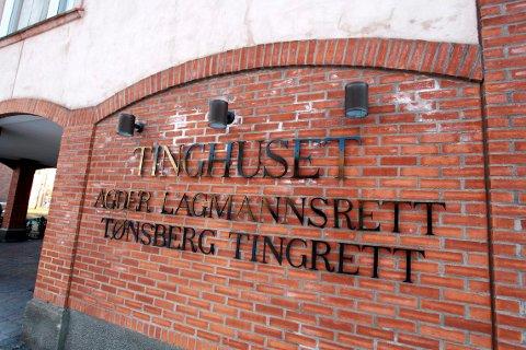 Tinghuset. Agder lagmannsrett. Tønsberg Tingrett.  Foto: Eric Johannessen