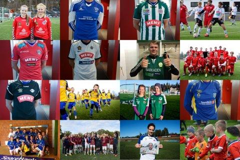 STOR KÅRING: Våre klubber bærer draktene sine med stolthet, men hvem er egentlig den peneste av dem?