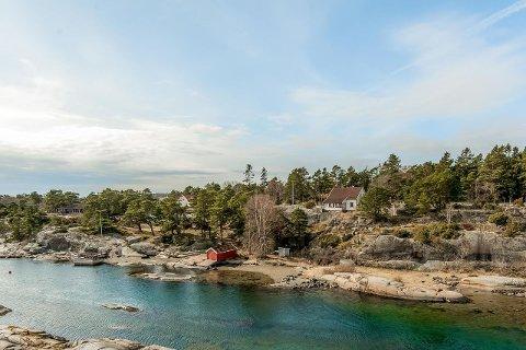 SUNDET: Eiendommen ligger fint til i Røssesund på Tjøme.