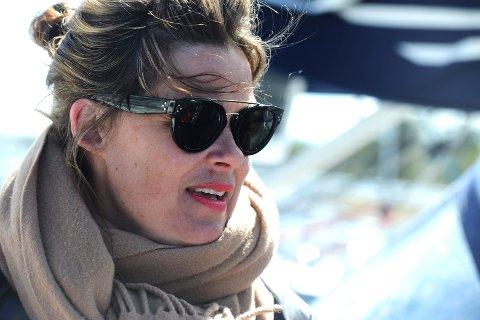 KONTROLL: Cecilie Sørumshagen føler hun har kontroll på det utenomsportslige som skal foregå i Tønsberg.