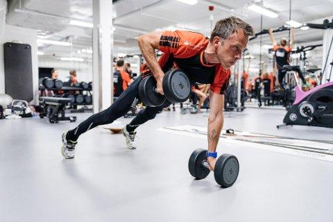 ÅPNER TRENINGSDAGBOKEN: Anders Aukland vil fortelle alle detaljer fra treningshverdagen i en egen blogg. - Jeg gjør det for å inspirere ivrige mosjonister, sier 44-åringen fra Tønsberg.