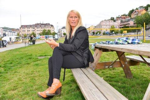 REAGERER KRAFTIG: Ordfører i Skien Hedda Foss Five.