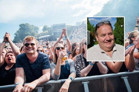 FOR ALLE: Bystyremedlem Olav Sannes Vika (SV) ønsker ikke 18-årsgrense på Slottsfjellfestivalen.