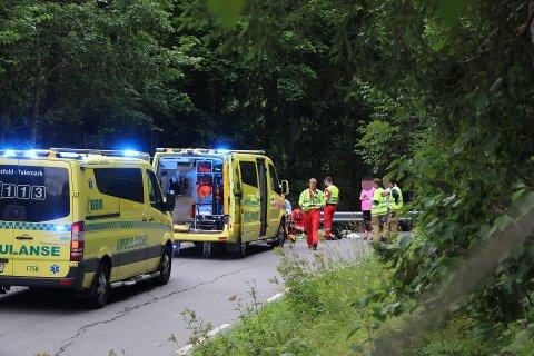 Ulykken har skjedd i Lindsholmveien.