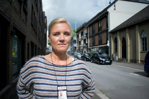 ØKNING: Leder for barnevernsvakta, Ingunn Grude, erfarer en økning i tilfeller av berusede mindreårige.
