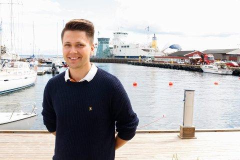 Bjørn-Kristian Svendsrud heier på Ørn og på godsdistribusjon på Kopstad.