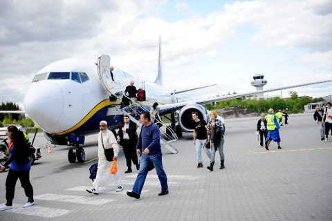 FERIETRØBBEL: Omtrent 2.000 flygninger blir påvirket av at Ryanair har rotet med pilotenes ferie.