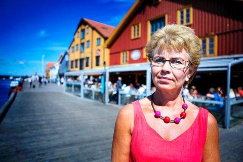 MINDRE TESTING: Sp-leder i Vestfold, Kathrine Kleveland, vil lærere og elever i den norske skole bedre tid til å lære og mindre tid til testing.