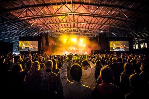 KRISTENFESTIVAL: Get Focused er en festival for unge kristne i Fix arena i Greveskogen.