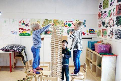 SATSER: Arbeiderpartiet satser på barna våre, skriver Anne Holm Moen, leder av Tønsberg Ap.