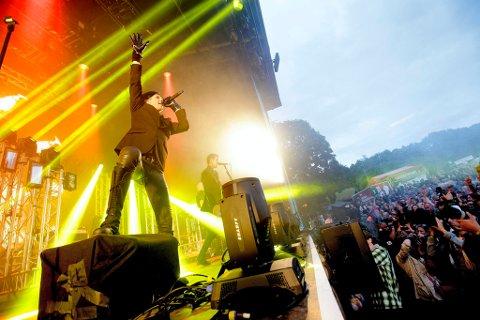 ENERGISK: Seigmen er kjent for å levere varene under sine liveopptredener. Her fra Slottsfjell i 2012. Nå er de klare for Støperiet.