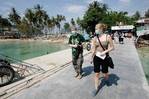 STERKE INNTRYKK: Christina Grefsrud-Halvorsen var  i Thailand som reporter tre ganger etter tsunamien.