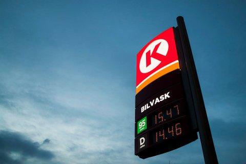 ENDRET PRIS: Circle K endret prisstrategi i slutten av november i fjor og resten av kjedene fulgte med. Foto: Håkon Mosvold Larsen (NTB scanpix)
