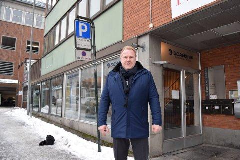 GODT ÅR: - Vi har ambisjoner om å fortsette å vokse, sier Hans Petter Bjarøy etter et godt år i 2017. Nedre Langgate 19 ble del av konsernets eiendomsmasse på nyåret i år.