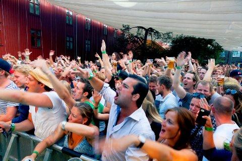 KALRT FOR FEST: Slottsfjell arrangerer kick off i Foynhagen.
