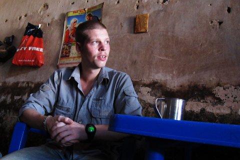 HOLDER FOREDRAG: Joshua French skal fortelle om Kongo-saken i Nøtterøy kulturhus i september.
