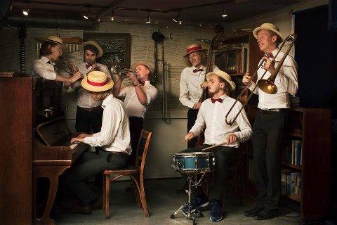 GJØR SUKSESS: Swing´It Dixieband kommer til Færderfestivalen for å gi publikum en musikalsk jazz-opplevelse.
