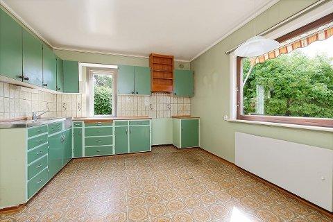 Slik ser kjøkkenet ut