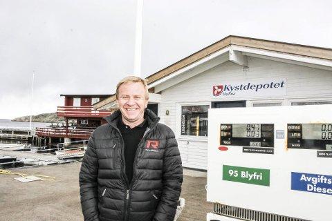 Jørn Hennig er daglig leder i Vrengen Maritime.