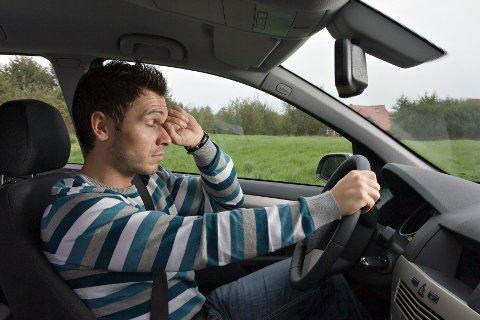 TA PAUSE: Det er viktig å ikke undervurdere hvor trøtt man egentlig er når man er ute på veien.